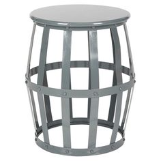 Rinaldo Stool in Grey at Joss & Main