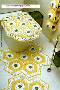 Juego d baño amarillo