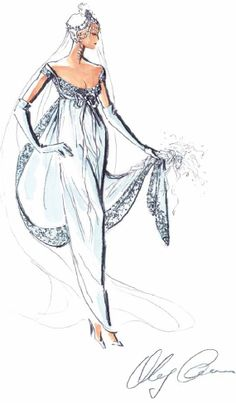 Oleg Cassini Gown. The Empire: the inspiration for this timeless and elegant gown comes from Empress Josephine, wife of Napoleon, who popularized the Empire silhouette in the early 19th century.