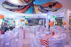 Jeffrey's The Beatles Themed Party – Venue Setup