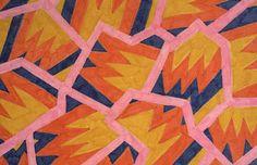 Nathalie du Pasquier, design for Memphis, early 1980s. Source As part of the Memphis collective du Pasquier designed surfaces – textiles an...