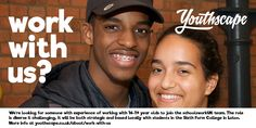 We're looking for a 16-19s specialist to join our schoolsworkUK team The role is diverse & challenging, it will be both strategic and based locally with students in the Sixth Form College in Luton.  You will be responsible for our 16-19s resources and strategy, equipping the church to do more with this exciting age group, alongside working more broadly with the Project Director across the aims of schoolsworkUK to see more, better & different work in schools across the UK.