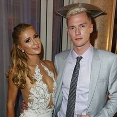 Paris Hilton and her brother attending the Heart Fund party in Cannes (547128)