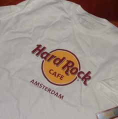 hard rock cafè amsterdam magliette