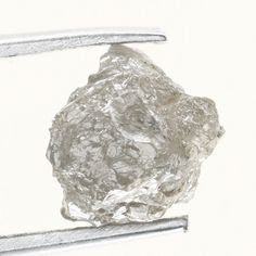 Antique 1.14 TCW  Natural Silver Gray Color Rough Diamond For Jewel