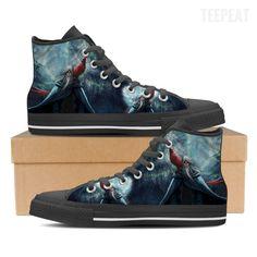 Dumbledore Men High Top Canvas Shoe
