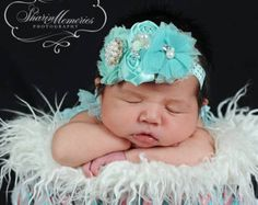 Flor beige bebé diadema lactante diadema por OohLaLaDivasandDudes