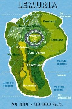 Ancient Map of Lemuria the lost cities in the history and still familiar/famous by those who interested. Ancient Mysteries, Ancient Artifacts, Ancient Aliens, Ancient History, Terre Plate, Spiritus, Fantasy Map, Alternate History, World Cities