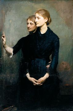 The Sisters by Abbott Handerson Thayer on Curiator, the world's biggest collaborative art collection. Austin Osman Spare, August Sander, Albert Bierstadt, Alfred Stevens, Camille Claudel, Alfred Stieglitz, Alphonse Mucha, Canadian Artists, American Artists