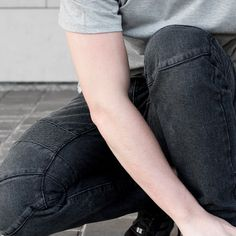 Meet the Rambo moto denim in black part of our exclusive #ateaze collection #theEasyLife . . .