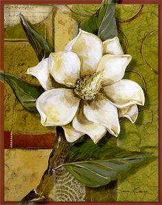 Think this says Mississippi magnolia  :). LAMINAS... Y TRABAJOS CON FLORES | Aprender manualidades es facilisimo.com