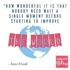 #Smartsayings #AnneFrank