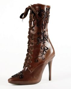 If they weren't real calfskin and a little shorter, they'd be so perfect.
