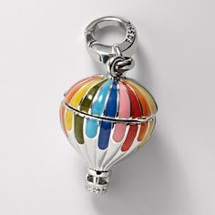 Fossil Hot Air Balloon Charm