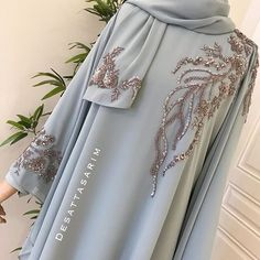 Modest Fashion Hijab, Niqab Fashion, Muslim Fashion, Fashion Dresses, Hijab Evening Dress, Mode Abaya, Oriental Dress, Goddess Dress, Abaya Designs