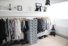 It's recession time: my closet