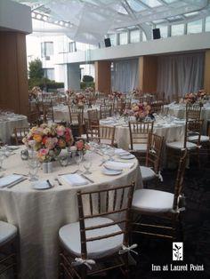 White & cream wedding
