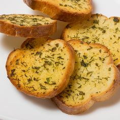 This garlic butter toast recipe will go very well with many main meals, salads and soups.. Garlic Butter Toast Recipe from Grandmothers Kitchen.