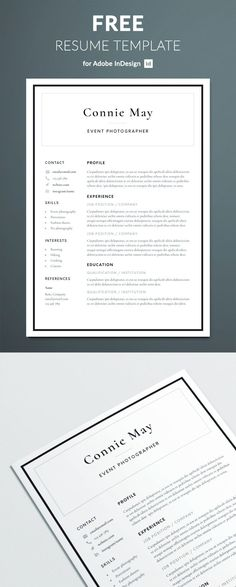 Free-Resume-Templates-15 Resumes templates Pinterest Template - free nursing resume templates
