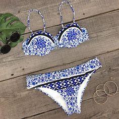 Cupshe Petal in Peril Bikini Set