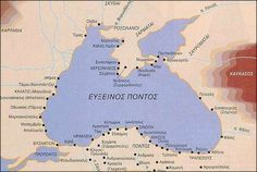Greek Colonies in the Black Sea Greek History, Ancient History, Chios, Black Sea, Historical Maps, Eastern Europe, Colonial, Greece, Byzantine