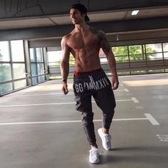 Brand Gyms Men Joggers Casual Men Sweatpants Joggers Pantalon Homme #trousers Sporting Clothing Bodybuilding Pants