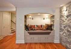 Home design and interior design gallery, decorteen present high quality images of house and interior design for great inspiration Basement Bedrooms, Basement Walls, Basement Ideas, Cozy Basement, Basement Wainscoting, Basement Laundry, Basement Finishing, Wainscoting Height, Black Wainscoting