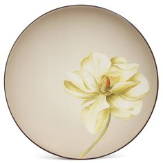 "Accent/Luncheon Plate—Floral, 8 1/4"" (Magnolia)"