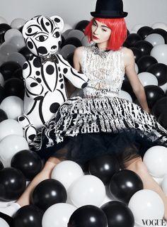 Antonina Vasylchenko by Danil Golovkin for Vogue Russia