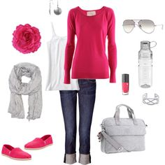 Comfy Travel, created by katiejeanne on Polyvore