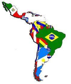 라틴 아메리카, 만들어진 대륙.