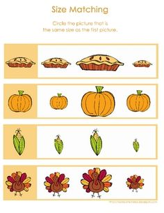This pack contains a creative variety of Thanksgiving themed activity pages, worksheets, and games for 3 - 6 year olds.  You'll find a bingo game, ...