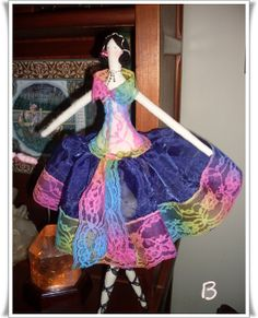 ♥Baú da Vovó♥Atheliê♥BeKa♥: bailarinas tilda versão baudavovo