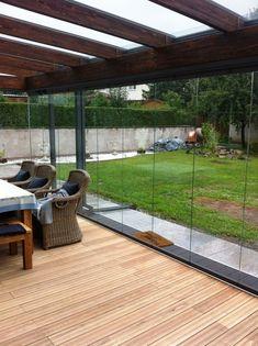 Garden room with veranda - gardenroom Backyard Patio Designs, Pergola Designs, Backyard Landscaping, Terrace Design, Garden Design, House Design, Outdoor Living, Outdoor Decor, Garden Pool