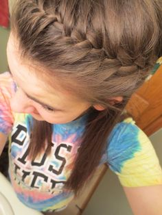 Cute but Smart Hairstyles for School and Fall time. Its still nice to keep my hair off of my face