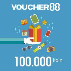 Beli Voucher88 Rp.100.000 Jumlah 100.000 Koin.Voucher88 adalah Voucher yang di terbitkan oleh Koin88 yang bisa di Reedem hanya di semua User ID WEB site yang terhubung/terkoneksi berlogo Voucher88. Pengiriman Serial Voucher melalui email. Free Chips Doubledown Casino, Free Casino Slot Games, Free Vouchers, Lottery Winner, Gift Card Generator, Online Poker, Live Casino, Free Gift Cards, Waves