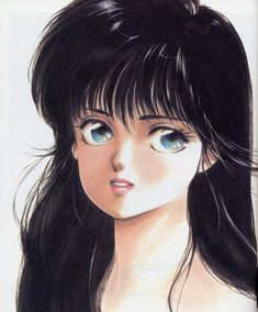 "Madoka Ayukawa from ""Kimagure Orange Road"" series by manga artist Akemi Takada."