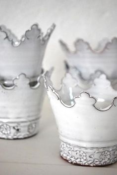 White Ceramic Candle Holders - Foter