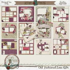 Old Fashioned Love - QP pack - PU only [SNP_OFLQPs] - $3.99 : Scraps N Pieces Store