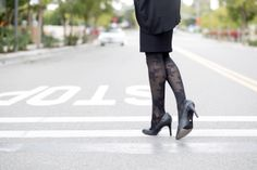 Seeking a more stylish alternative to the thick beige compression hosiery on the market today? Try Rejuva! RejuvaHealth offers a wide variety of stylish and fashionable graduated compression legwear so you can feel great and look great too! Opaque Stockings, Knit Stockings, Designer Tights, Support Stockings, Compression Stockings, Goddess Of Love, Comfortable Fashion, Thigh Highs, Work Wear