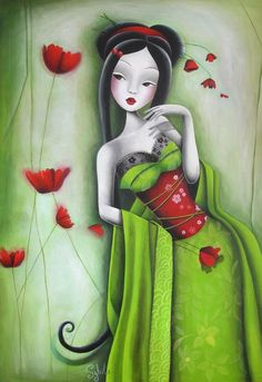 Miss Coquelicot by Lady Sybile