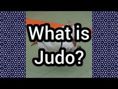 What is Judo? - YouTube What Is Judo, Learning Techniques, Olympic Sports, Brazilian Jiu Jitsu, Martial Arts, Olympics, Wrestling, Japanese, Lifestyle