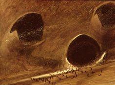 'Dune' Illustrations by John Schoenherr (1963, Analog Sci-Fi magazine)