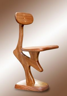 Jafu chair by DIMISCO - Diego Miscoria -. It is a chair made in Anegre wood and finished with oil. No screws or metallic parts. A design  created from the idea  of put together a simple but interesting shape and minimum use of wood. This chair helps to keep a good back position. http://tc8.me/cdb930d