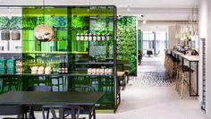 The Kitchen en Utrecht: diseño en verde para comérselo.
