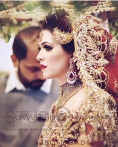 Bridal Hijab, Pakistani Bridal Dresses, Bridal Looks, Bridal Style, Blue Bridesmaid Dresses, Wedding Dresses, Muslim Brides, Pakistani Jewelry, Bridal Shoot