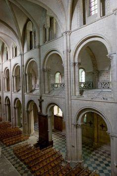 Caen, Église Saint-Étienne (Abbaye aux Hommes) - Mapping Gothic France