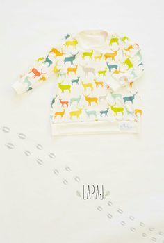 Hoodie for kids Dear  Design by LAPAJ