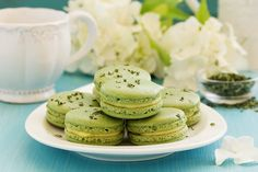Food Photography Tips, Cookie Designs, No Bake Treats, Matcha, Macarons, Cookie Recipes, Food And Drink, Sweets, Bread