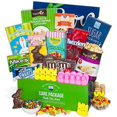 Gift boutique easter cellophane bags 100 pack 4 assorted show you care about them with this beautiful easter care package it boasts rich chocolates and sweet candies creating an unforgettable gift negle Choice Image